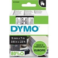 DYMO Ruban D1 Standard - noir/blanc 9 mm - 7 m