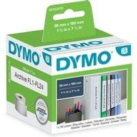 Comparateur de prix Dymo Rouleau 110 etiquet classeur 190x38MM pour labelwriter