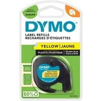 Comparateur de prix Ruban Dymo LetraTAG Transfert textile Noir/Jaune