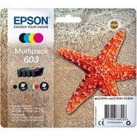 Comparateur de prix Encre epson 603 Multipack C13T03U64010