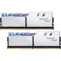Comparer les prix du memoire DDR4 G.Skill Trident Z Royal SILVER 16Go DDR4 3000MHz PC24000 , Mémoire PC - DDR4 - 16Go - 3000MHz PC24000 - Couleur Argent - RGB - F4-3000C16D-16GTRS