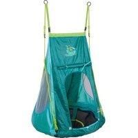 Comparateur de prix HUDORA® Balançoire nid avec tente, pirate bleu 0