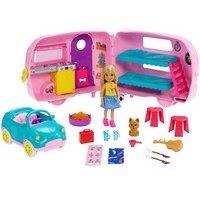 Comparateur de prix Barbie - chelsea et sa caravane - 3 ans et +