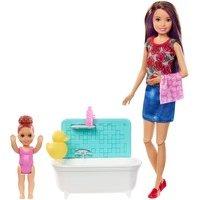 Comparateur de prix Coffret Barbie Babysitter Heure du bain