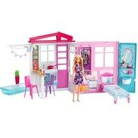 comparateur de prix Barbie Maison De Barbie Avec Accessoires Mattel Fxg55