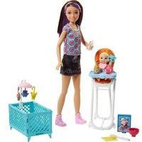 comparateur de prix Barbie Babysitters Inc Doll - Baby Feeding Set - Brand New