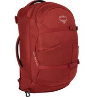 Comparateur de prix Osprey Farpoint 40 Men's Travel Pack - Jasper Red (S/M)