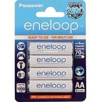 comparateur de prix PANASONIC Eneloop 4 piles rechargeables LR06-AA 1900 mAh
