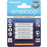 comparateur de prix PANASONIC Eneloop 4 piles rechargeables LR03-AAA 750 mAh