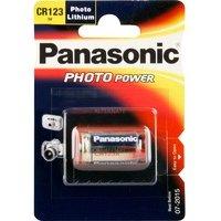 comparateur de prix PANASONIC Pile Panasonic Lithium Power CR123 (1 pce)
