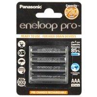 comparateur de prix PANASONIC Eneloop pro 4 piles rechargeable LR3-AAA 900 mAh