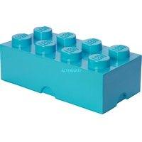 comparateur de prix Brique de rangement LEGO® bleue azure 8 tenons