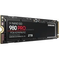 Nouveau Samsung 980 Pro 2 to M.2 NVMe Internal Solid State Drive (SSD) (MZ-V8P2T0BW)