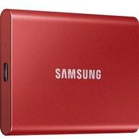 Comparateur de prix Samsung T7 Rouge métallique - 1 To - USB 3.2 Gen 2