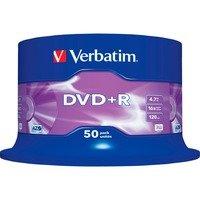 Comparer les prix du Verbatim DVD+R 4.7 Go 16x (par 50, spindle)
