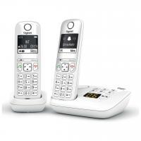 Comparateur de prix Gigaset AS690A Duo - Téléphone Fixe sans Fil avec répondeur, 2 combinés avec Grand écran rétroéclairé pour Un Affichage Ultra lisible, Fonction