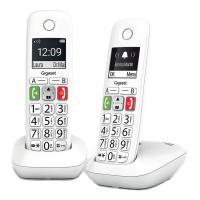Comparateur de prix Téléphone sans fil Gigaset GIGASET E290 DUO BLANC