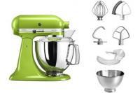 Comparer les prix du KitchenAid 5ksm175psega, des équipements Robot Artisan avec Profi, vert pomme