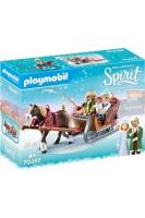 Playmobil PLAYMOBIL Playmobil 70397 - spirit - calèche d'hiver