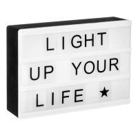 Comparateur de prix Boîte à messages - Boite magnétique lumineuse - AC-DÉCO