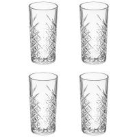 Lot de 4 Verres à Whisky Timeless 45cl Transparent