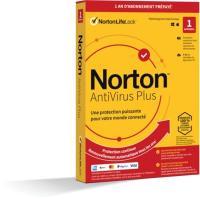 Comparateur de prix Logiciel antivirus et optimisation NORTON LIFELOCK Norton Antivirus Plus 2Go 1 poste Multicolore Norton