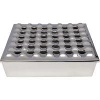 Comparateur de prix Karedesign Cendrier Soho carré argenté 25x25cm Kare Design