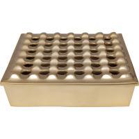 Comparateur de prix Cendrier Soho carré laiton 25x25cm Kare Design