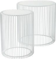 Comparateur de prix Tables d' appoint Wire blanc