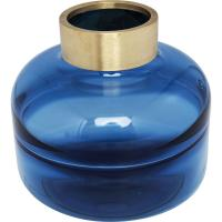 Comparateur de prix Vase positano belly bleu 21cm kare design