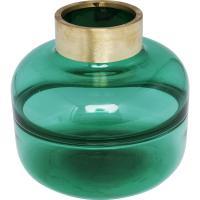 Comparateur de prix Vase positano belly vert 21cm kare design