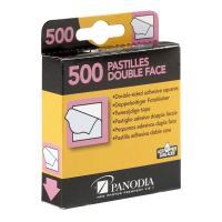Comparateur de prix Panodia 270891 Boîte de 500 Pastilles Adhésives Double Face