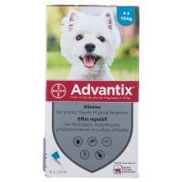 Advantix Pipettes Antiparasitaires Petit chien 4 -10 kg