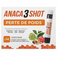 Comparateur de prix Anaca3 Shot Perte de Poids 14 ampoules