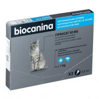 comparateur de prix Pipettes Fiprocat Spot-On Biocanina B3BC003