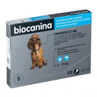 comparateur de prix Pipettes Fiprodog Spot-On Biocanina A3BC013