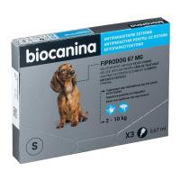 Pipettes Fiprodog Spot-On Biocanina A3BC013