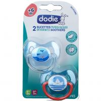 Comparateur de prix Dodie Sucette Duo P45 + 6 Mois -Physiologique - Coeurs