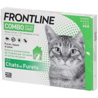 Frontline Combo Pipettes Antiparasitaires Chat et Furet