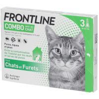 comparateur de prix Frontline Combo Pipettes Antiparasitaires Chat et Furet