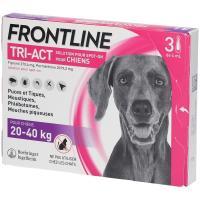 comparateur de prix Frontline Tri-Act L Grand Chien (20-40 kg) - 3 pipettes