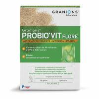Comparateur de prix Laboratoire Des Granions Probio Vit Flore 30 Gélules