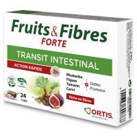Comparateur de prix Fruits Et Fibres Forte - 24 Cubes Ortis