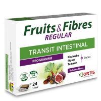 Comparateur de prix Fruits & Fibres Regular Transit Intestinal - 24 cubes