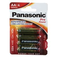 comparateur de prix 1x4 Panasonic Pro Power LR 6 Mignon AA Réf: 406777
