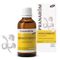 Comparateur de prix Pranarôm - Noyau d'Abricot Bio - Huile Végétale - Contient Les Vitamines A et E - 50 ml