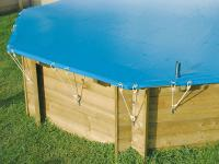 Comparateur de prix Couverture hivernage de securite pour piscine bois diam 4.10m - nortland ubbink 7514388
