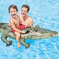 Matelas gonflable à chevaucher Intex Alligator