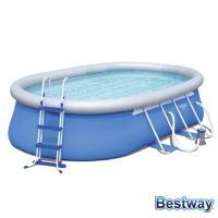Comparateur de prix Piscine autoportante ovale fast set pools l.549 x l.366 x h.122