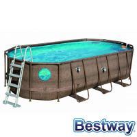Comparateur de prix Piscine tubulaire ovale power steel swim vista pool 5.49x2.74xh.1.22m